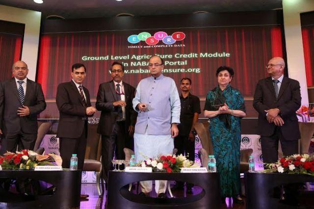 Shri Arun Jaitley, Hon. Finance Minister, GOI launched NABARD's Roadmap-