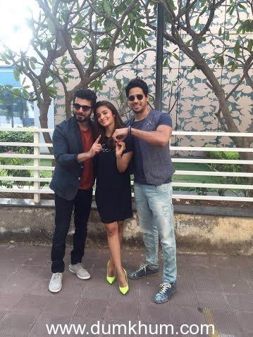 Sidharth Malhotra Fawad Khan and Alia bhatt -