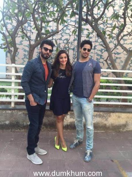 Sidharth Malhotra Fawad Khan and Alia bhatt 1