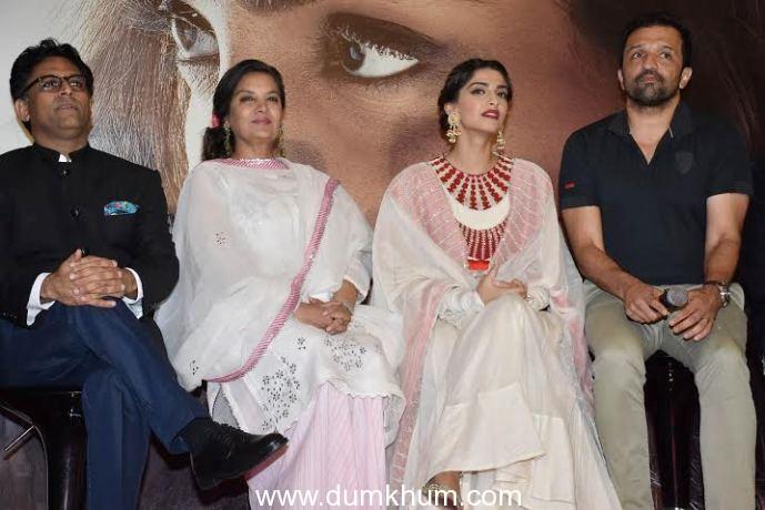 Sonam Kapoor, Shabana Azmi, Ram Madhvani,  Atul Kasbekar,
