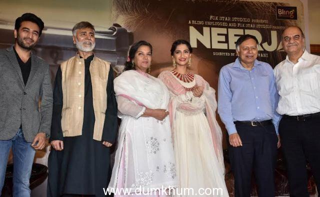 Sonam Kapoor, Shabana Azmi, Ram Madhvani, Shekhar Ravjiani-