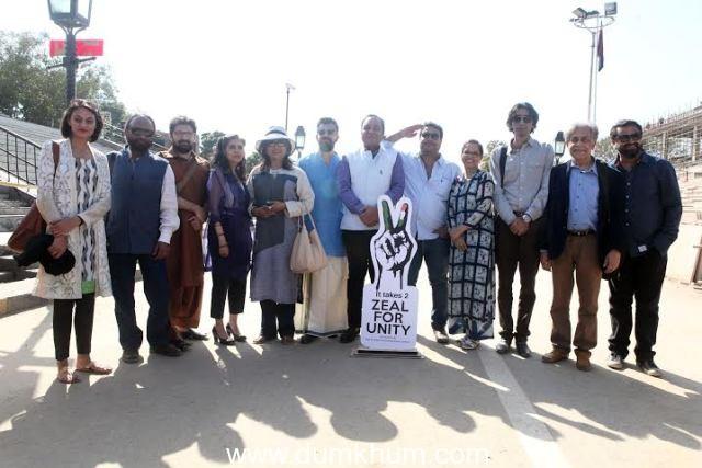 Tanya Mirza, Ketan Mehta, Farjad Nabi, Sabiha Sumar, Aparna Sen, Bejoy Nambiar, Punit Goenka (MD & CEO, ZEEL), Tigmanshu Dhulia, Tanuja Chandra, Siraj-ul-Haque, Khalid Ahmed and Nikkhil Advani.