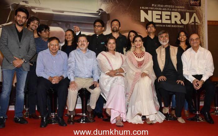 Team Neerja express their gratitude!