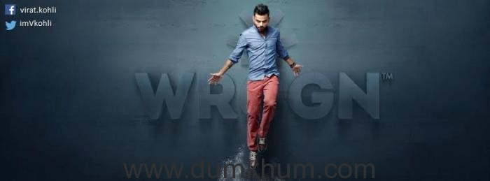 Virat Kohli, the style icon makes a Wrogn move in Hyderabad