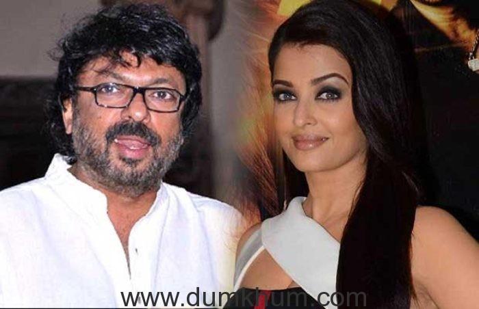 "Aishwarya is my muse  'NOW AND FOREVER "": Sanjay Leela Bhansali"
