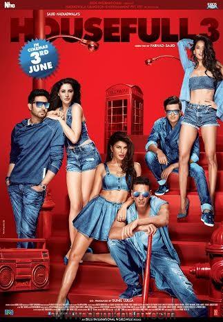 Abhishek- Akshay starrer Housefull 3 Poster-1