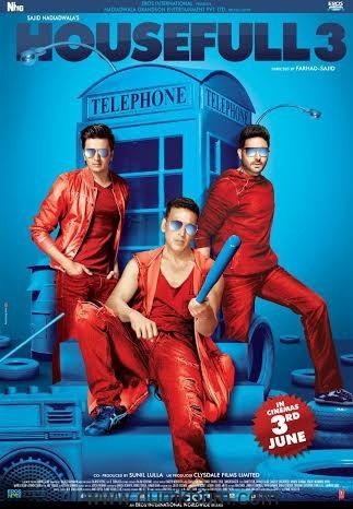 Abhishek- Akshay starrer Housefull 3 Poster