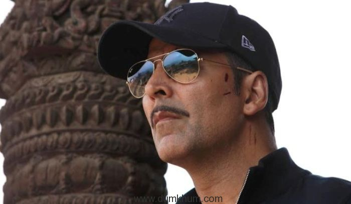 Akshay apologies for the unfortunate incident!!!