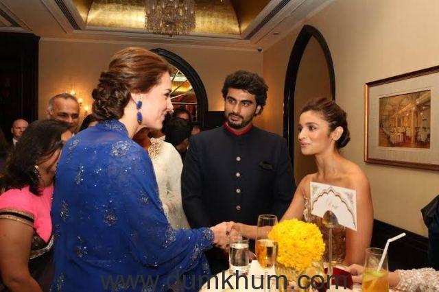 Alia Bhatt, Karan Johar at the Royal Gala Dinner -