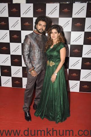 Anurag Jaiswal with Wife