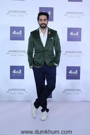 Ayushmann Khurrana at the Arrow 4in1 Shirt Launch-4