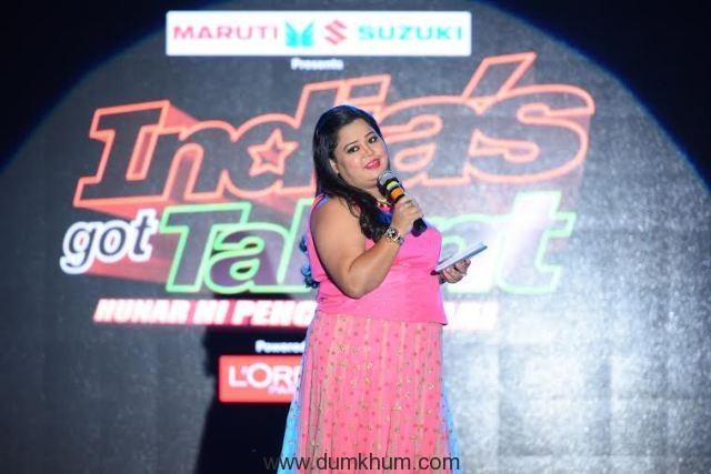Bharti (2) @ India's Got Talent