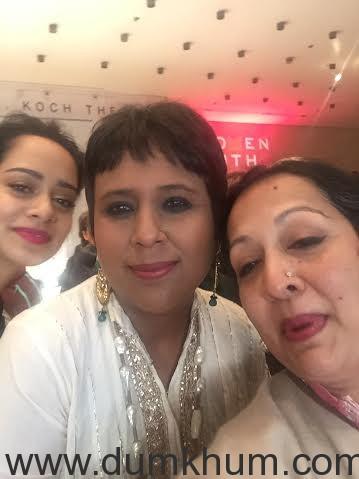 Devika Bhise Stuns In Veronica Beard At The 7th Women In The World Summit-