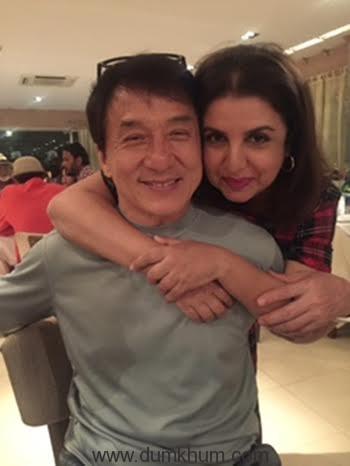 Farah Khan choreographs a big, happy, Bollywood style- Chinese song for Jackie Chan-