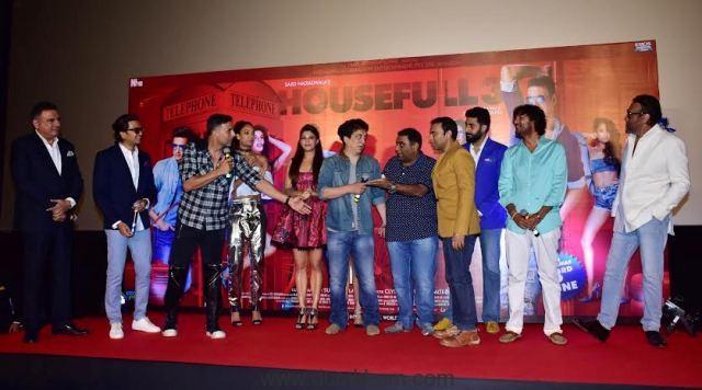 Full House entertainment at Housefull 3 trailer Launch--