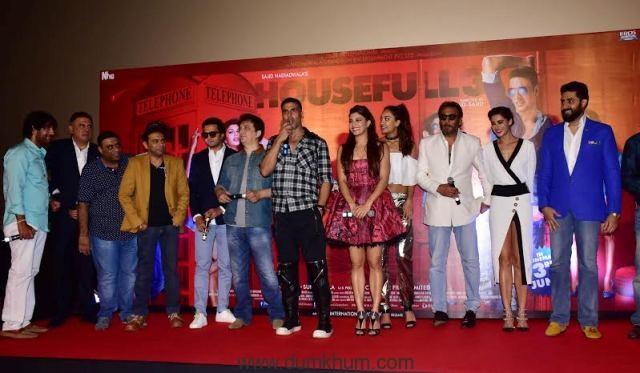 Full House entertainment at Housefull 3 trailer Launch--2