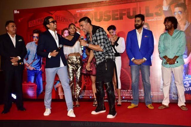 Full House entertainment at Housefull 3 trailer Launch-6