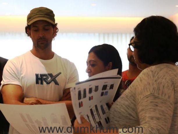Hrithik Roshan's got an eye for Fashion