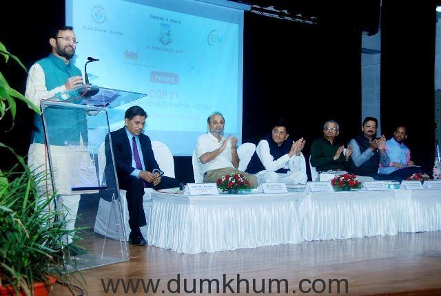 India to ratify COP 21 Global Climate Agreement on April 22 - Prakash Javadekar -