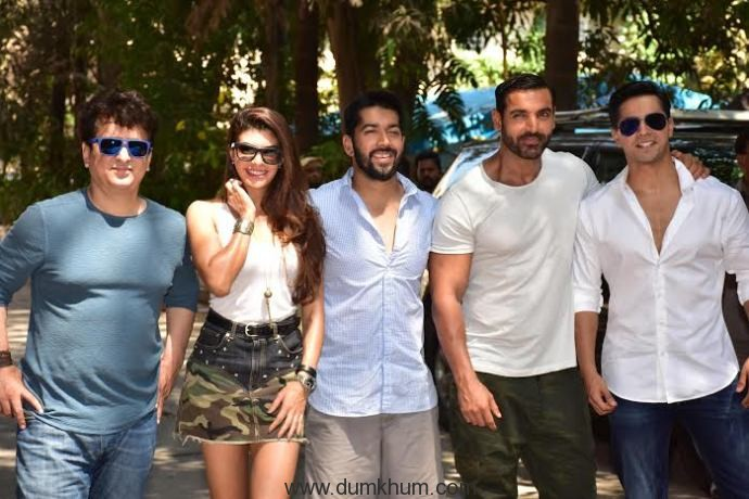 Team Dishoom Wraps it Up in style!