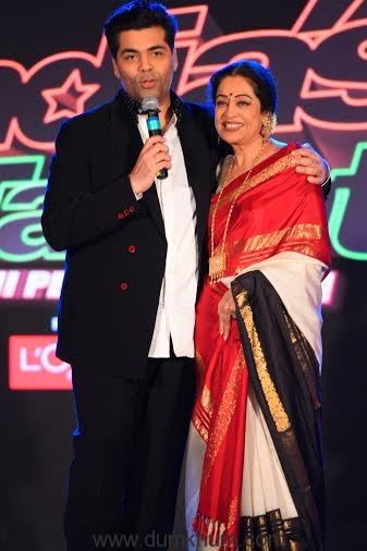 Karan Johar & Kirron Kher @ India's Got Talent