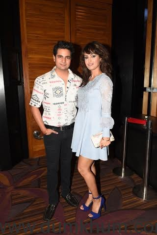 Karan Mehra with Nisha Rawal _