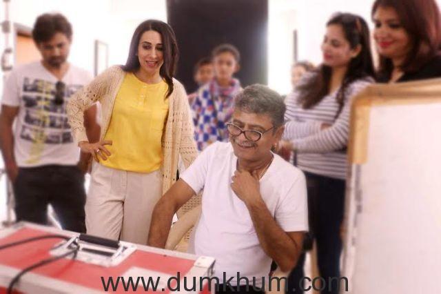 Karishma Kapoor and Sunil Khosla (2