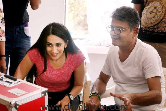 Karishma Kapoor and Sunil Khosla