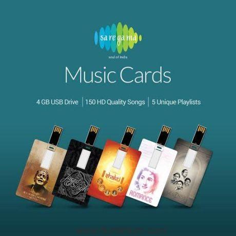 Saregama Launches MUSIC CARDS