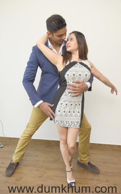 Neeraj Maskara with Neha Mehta _