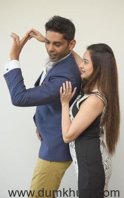 Neeraj Maskara with Neha Mehta