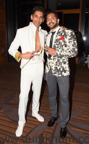 Neeraj Maskara with Terence Lewis _