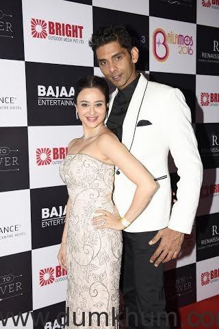 Neha Mehta with Neeraj Maskara _