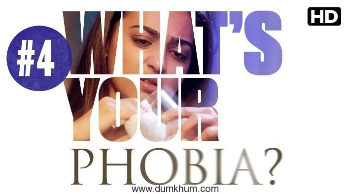 Radhika Apte enacts Mysophobia!