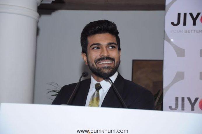 Ram Charan launches a wellness app-