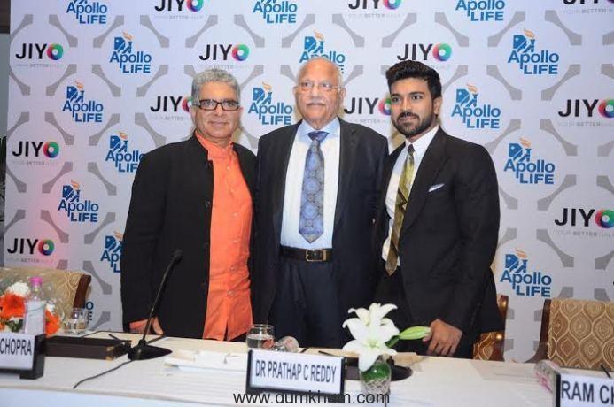 Ram Charan launches a wellness app
