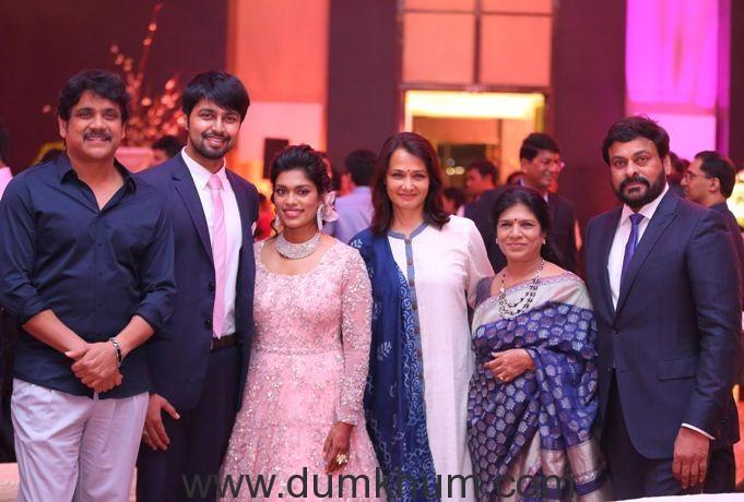 Ram Charan's sister Shreeja ties the knot at a VIP studded affair -