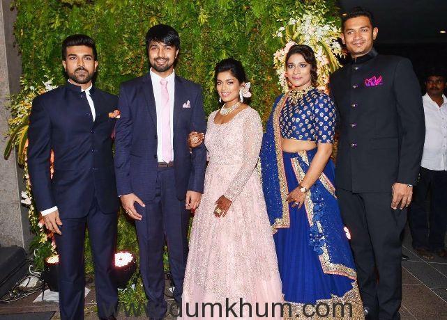 Ram Charan's sister Shreeja ties the knot at a VIP studded affair !