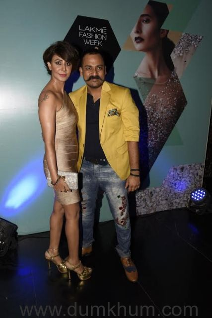 Shagun Gupta with Lalit Dalmia _
