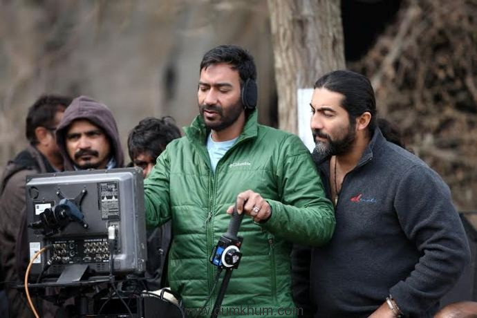 New still from Ajay Devgn's directorial venture Shivaay.