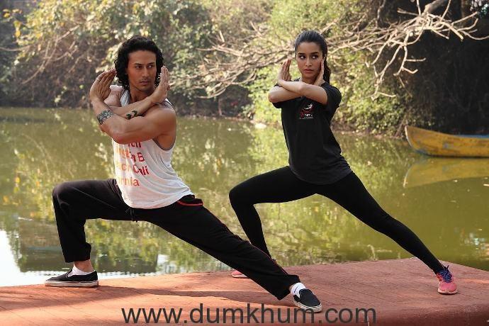 Shraddha Kapoor and Tiger Shroff-