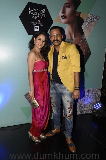 Shweta Khanduri with Lalit Dalmia _