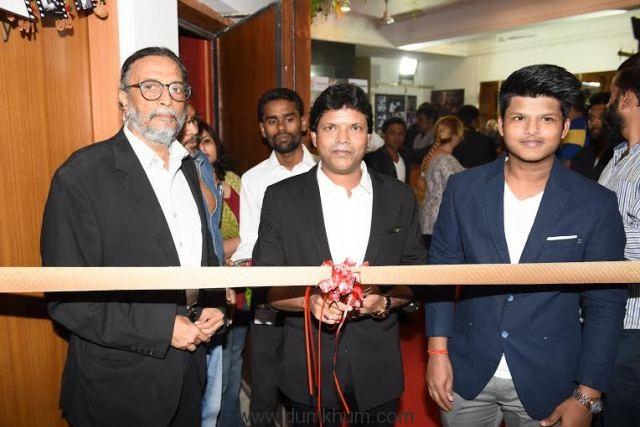 Subhash Kale Inaugrating Vikrant Studio