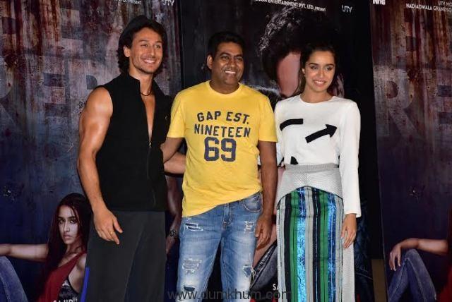 Tiger Shroff, Shraddha Kapoor and Director Sabbir Khan-1