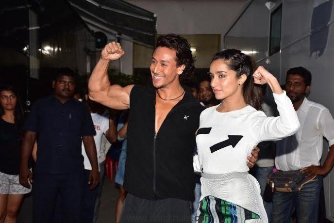 Tiger and Shraddha perform breathtaking action stunts-