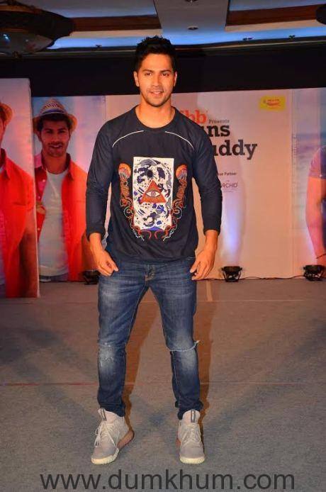 Varun Dhawan finds his Style Buddy
