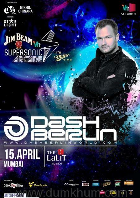 Vh1 Supersonic Arcade 2016 with Dash Berlin - Mumbai.