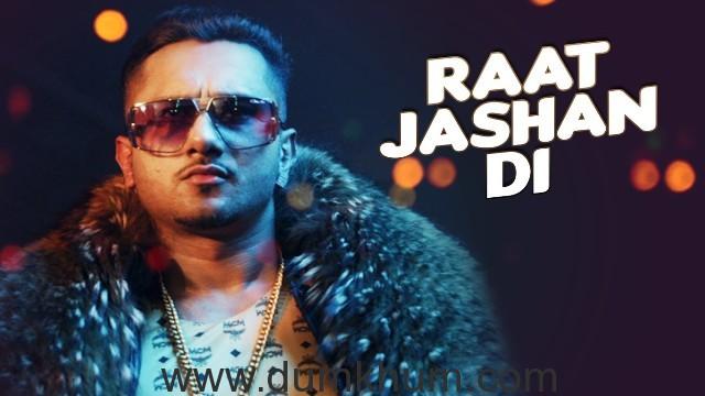 Zorawar song 'Raat Jashan Di' featuring Yo Yo Honey Singh crosses 1 million views
