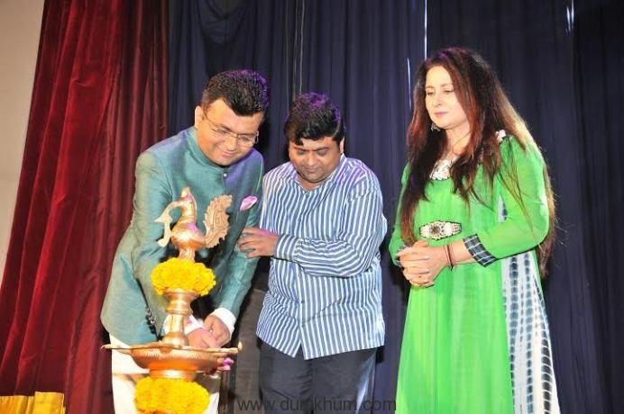 3. Aneel Murarka with Manish Murarka and Poonam Dhillon