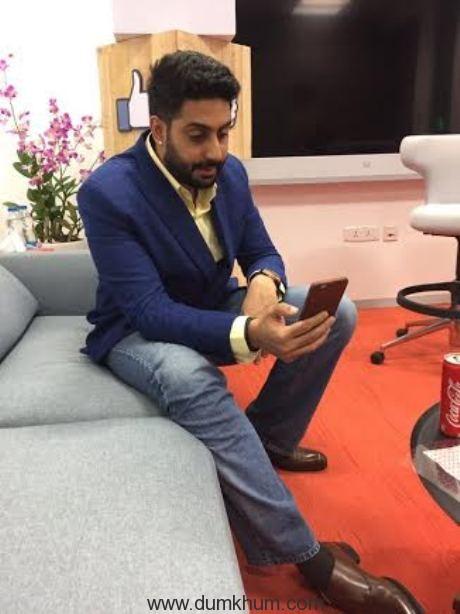 Abhishek at FB-3